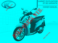 MANUALE per Kymco PEOPLE ONE 125 4T EURO III