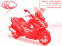 MANUALE D'USO XCITING 400I ABS 4T EURO 4 400 kymco-motocicli XCITING XCITING 400I ABS 4T EURO 4 0