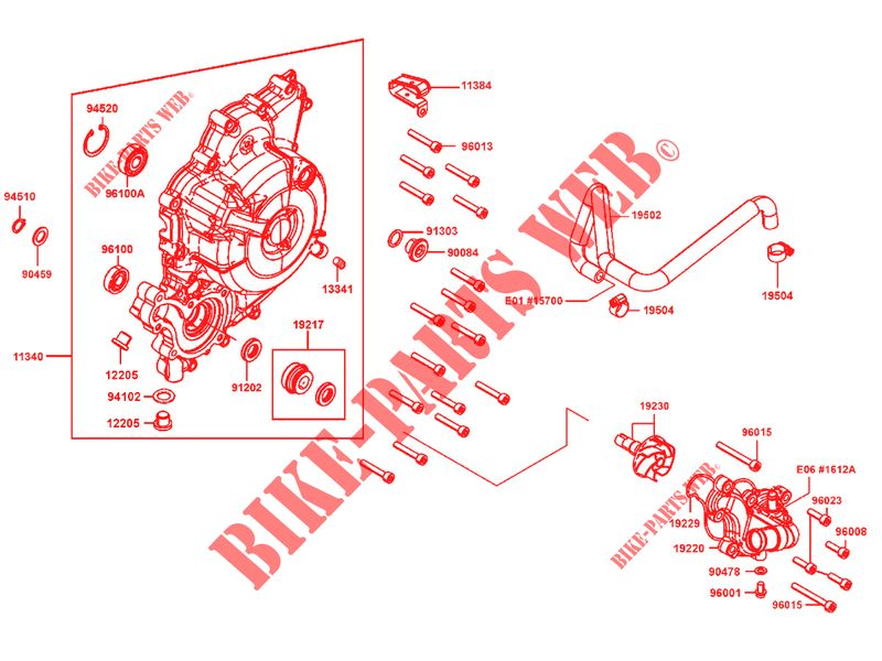 Guarnizione AIRSAL Sport 70/CC in alluminio per Kymco AC ad esempio Sniper