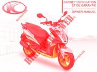MANUALE D'USO per Kymco AGILITY 50  NAKED RENOUVO 4T EURO 4