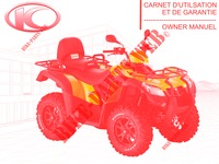 MANUALE D'USO per Kymco MXU 500 DX IRS 4X4 INJECTION 4T EURO II